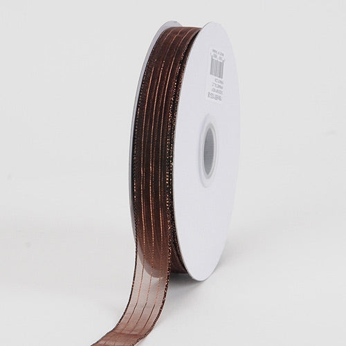 Chocolate - Corsage Ribbon - ( 5/8 inch | 50 Yards )
