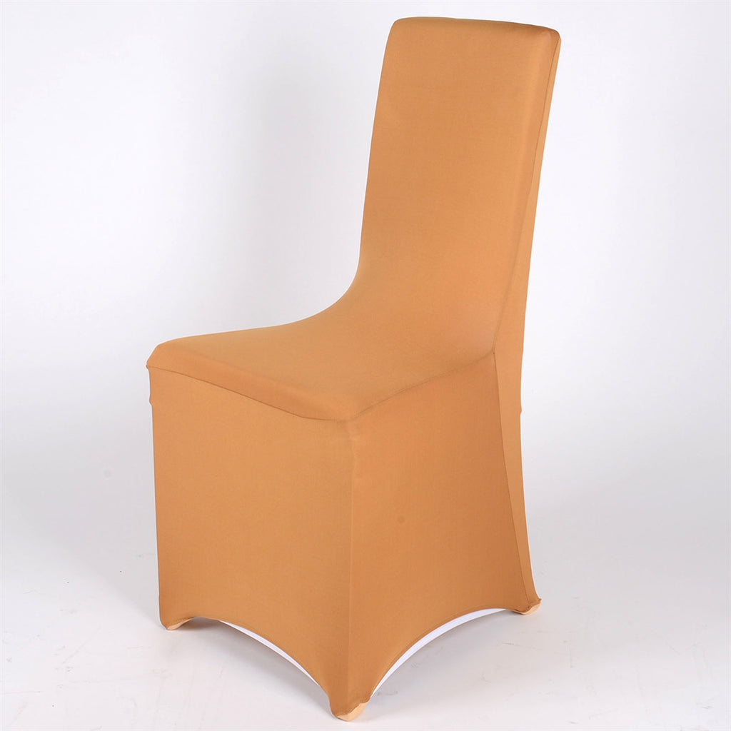 Gold - Spandex Banquet Chair Cover - ( Spandex Banquet Chair Cover )