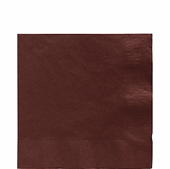 Chocolate Brown luncheon paper napkins 50pcs