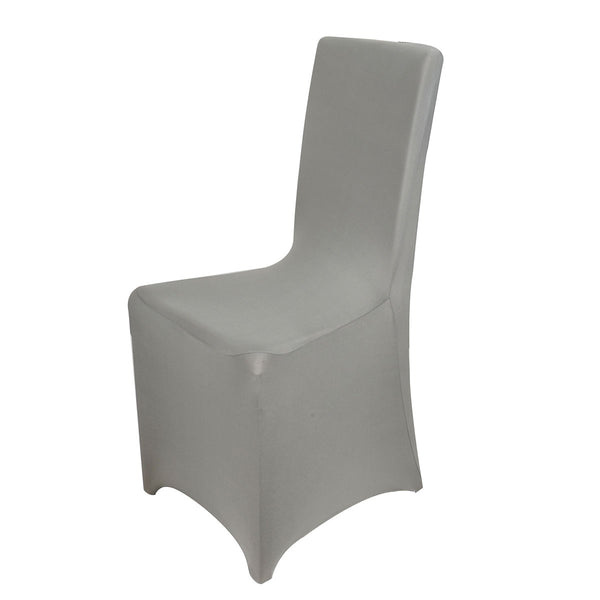 Spandex Banquet Chair Cover Silver