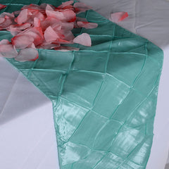 Pintuck Satin Table Runners
