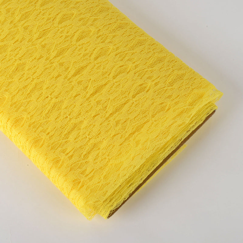 54 Inch Lace Bolt 10 Yards -  Yellow