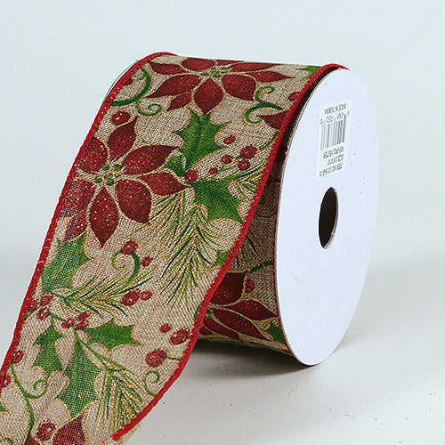 Christmas Ribbon (2.5''x10yds) - X31554015