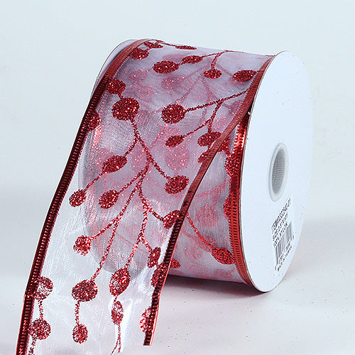 Christmas Ribbon ( 2-1/2 Inch x 10 Yards ) - X33254001