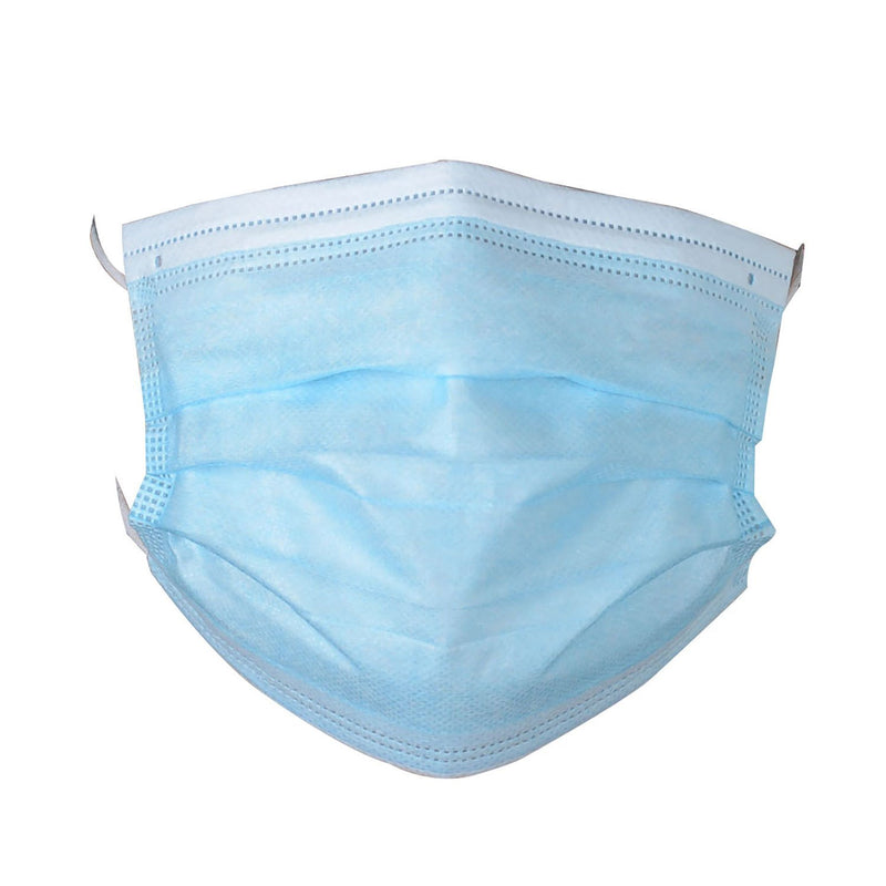 3-Ply Disposable Protective Face Mask - 600 Boxes - 30000 Masks
