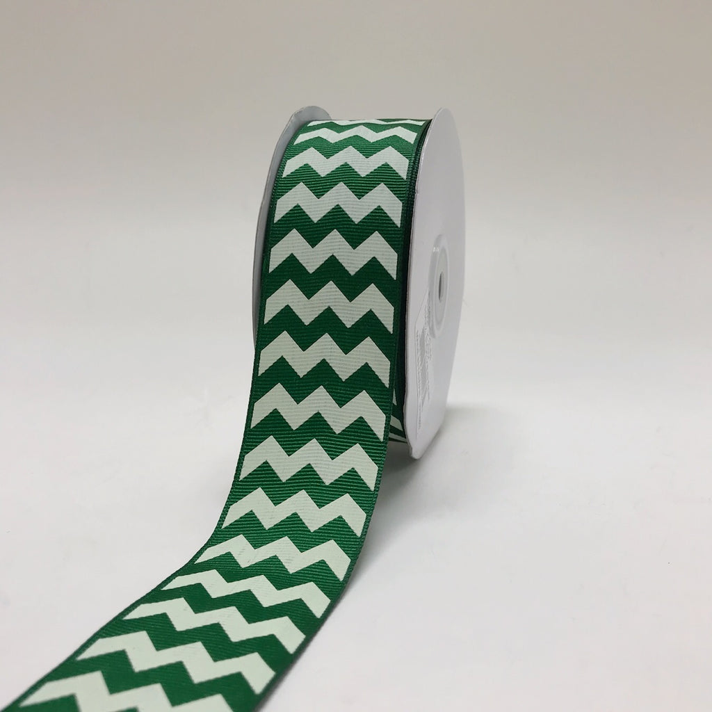 Grosgrain Ribbon Chevron Design