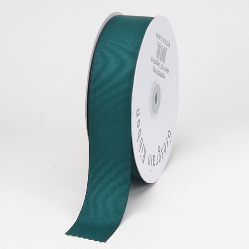 Hunter Green - Grosgrain Ribbon Solid Color - ( W: 3/8 inch | L: 50 Yards )
