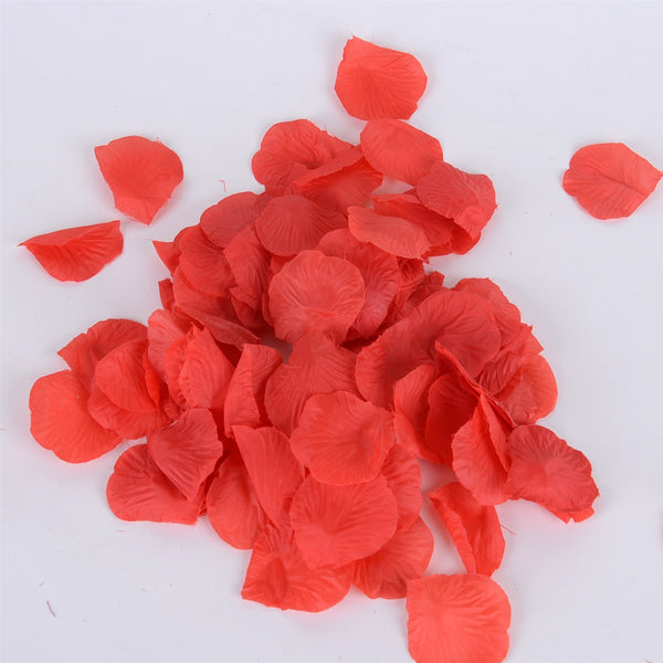 Red - Silk Flower Petal - ( 400 Petals )