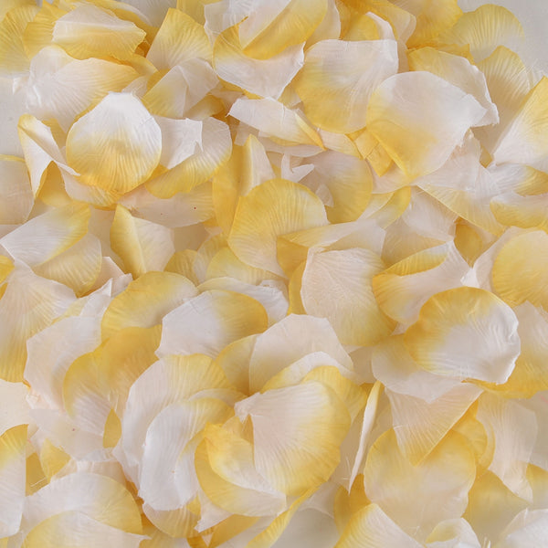 Gold - Silk Flower Petal - ( 400 Petals )