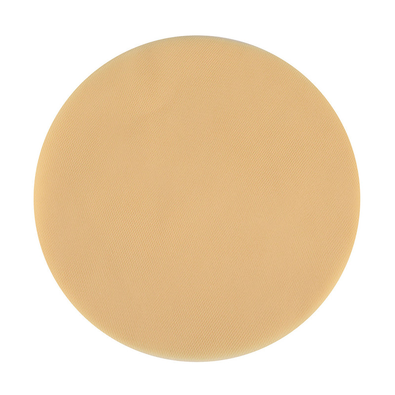Gold - Premium Tulle Circle - ( 9 inch | 25 Pieces )
