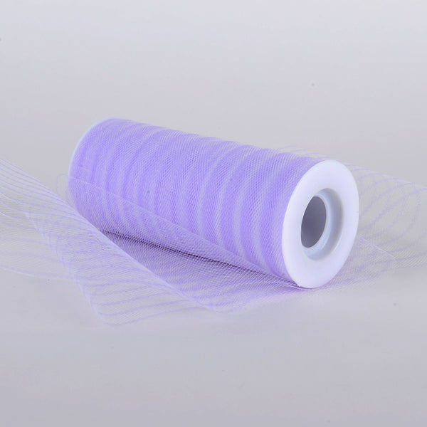 6 Inch Multi Striped Tulle -  Lavender