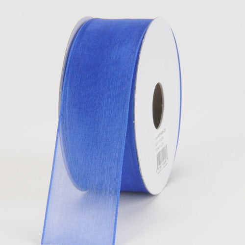 Royal - Sheer Organza Ribbon - ( 1-1/2 inch | 25 Yards )