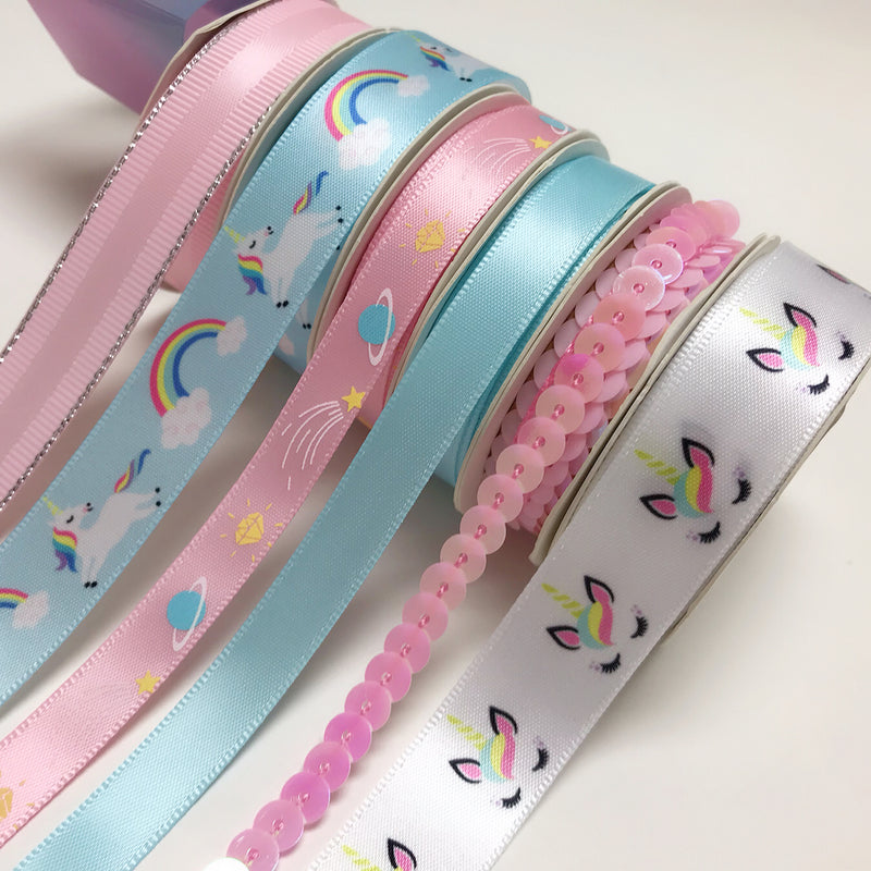 Unicorn DIY Ribbon Gift Set