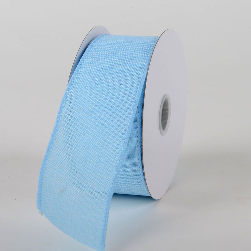 Light Blue - Canvas Ribbon - ( W: 1-1/2 inch | L: 10 Yards )
