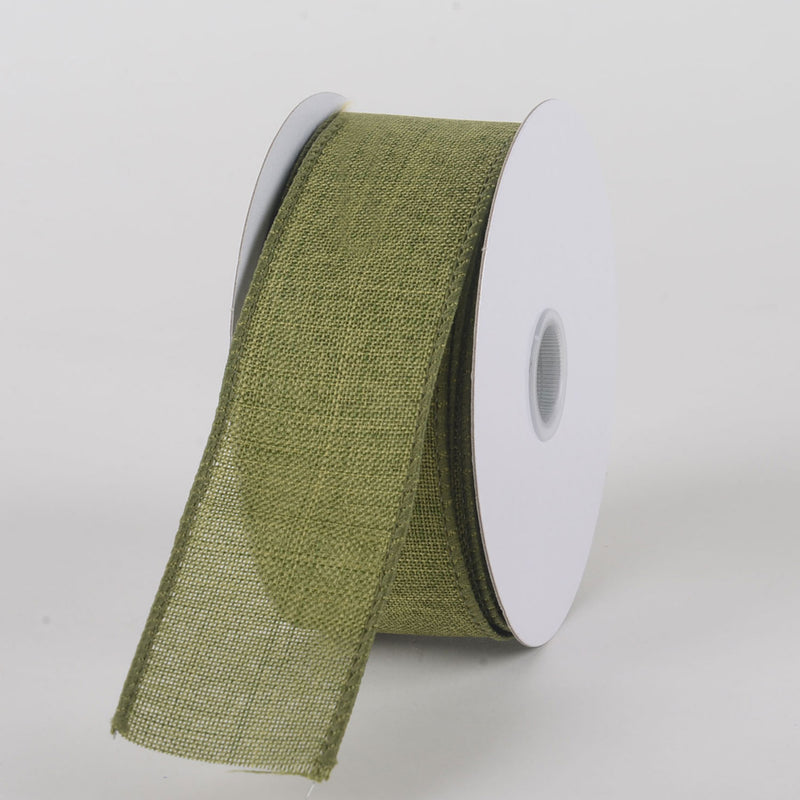 Moss Green - Canvas Ribbon - ( W: 1-1/2 inch | L: 10 Yards )