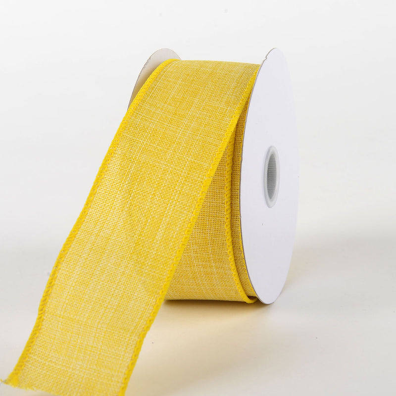 Daffodil - Canvas Ribbon - ( W: 1-1/2 inch | L: 10 Yards )