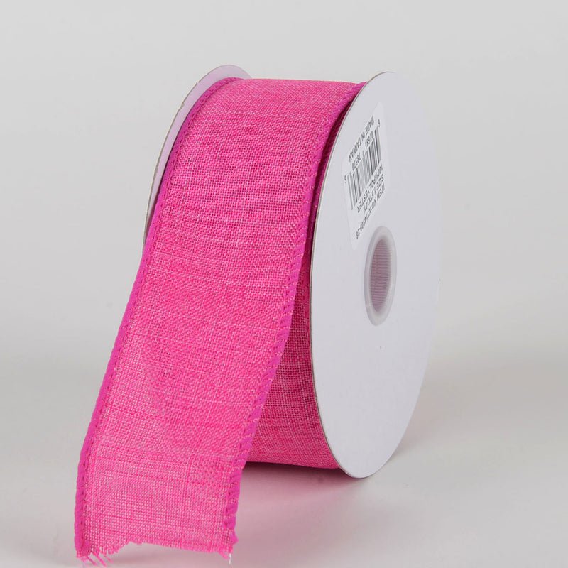 Fuchsia  - Canvas Ribbon - ( W: 1-1/2 inch | L: 10 Yards )