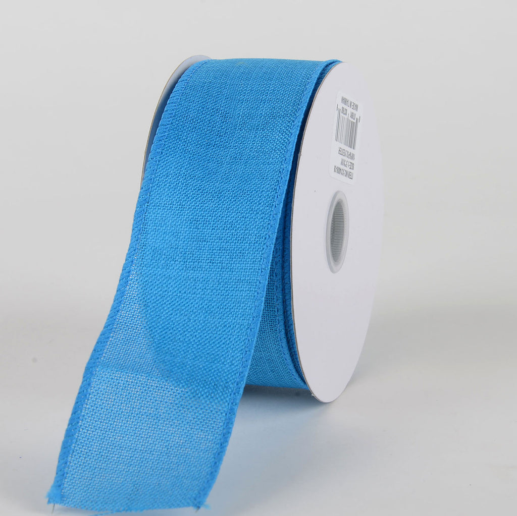 Turquoise - Canvas Ribbon - ( W: 1-1/2 inch | L: 10 Yards )