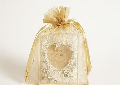 Gold  - Organza Bags - ( 6 x 9 Inch - 10 Bags )