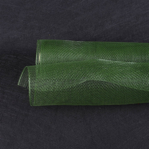 Spring Moss  - Floral Mesh Wrap Solid Color -  ( 21 Inch x 10 Yards )