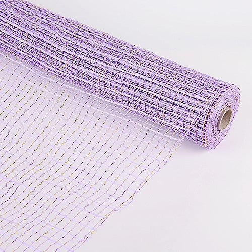 Lavender  - Floral Oasis Mesh Wrap -  ( 21 Inch x 10 Yards )