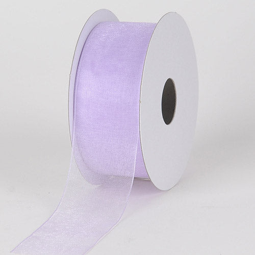 Lavender - Sheer Organza Ribbon - ( 1-1/2 inch | 25 Yards )
