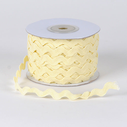 Ivory - Ric Rac Trim - ( 7mm - 25 Yards )