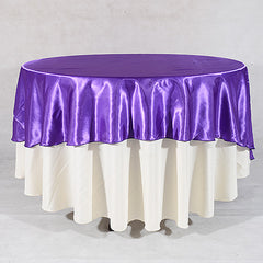 70 inch Satin Round Tablecloths