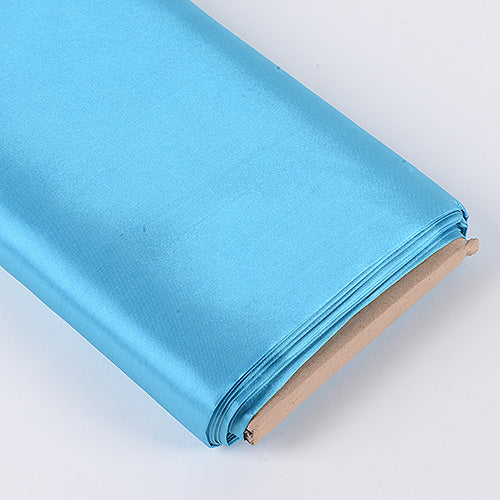 Turquoise - Premium Satin Fabric - ( W: 60 inch | L: 10 Yards )