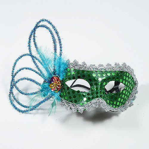 Masquerade Masks Emerald ( 1 Mask )