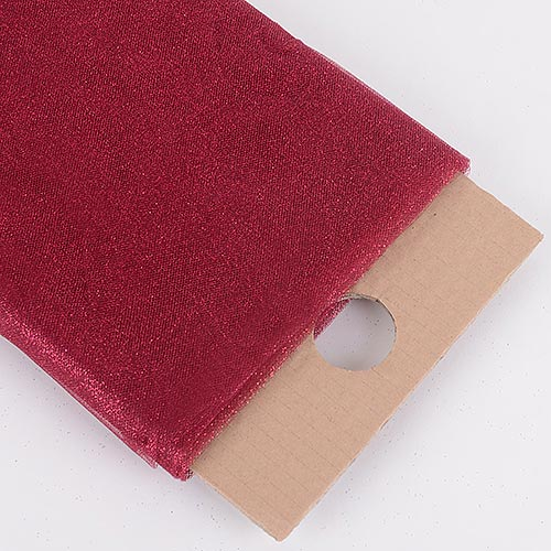 Burgundy Premium Glitter Tulle Fabric ( 54 inch | 10 Yards )