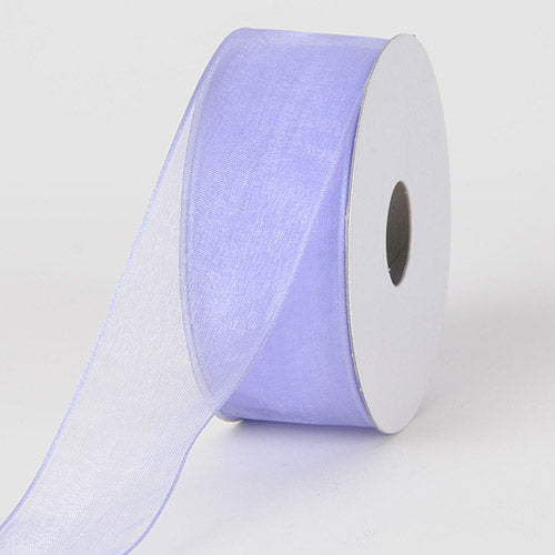 Iris - Organza Ribbon Thin Wire Edge 25 Yards - ( 2-1/2 inch | 25 Yards )