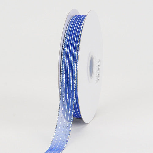 Silver - Corsage Ribbon Royal - ( W: 5/8 inch | L: 50 Yards )