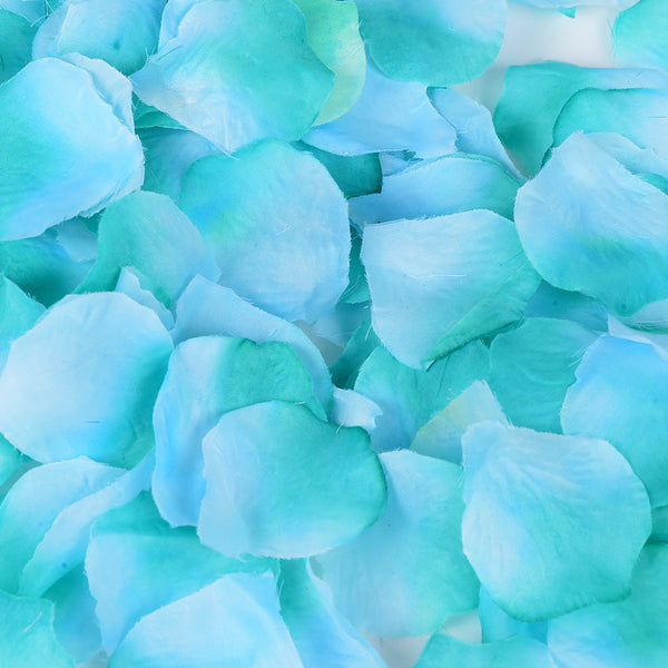 Teal - Silk Flower Petal - ( 400 Petals )