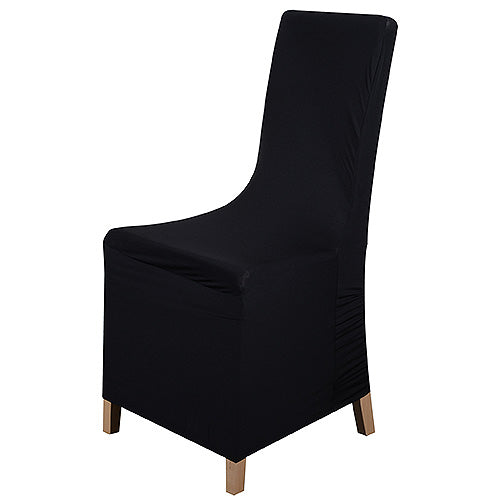 Black - Spandex Banquet Chair Cover - ( Spandex Banquet Chair Cover )