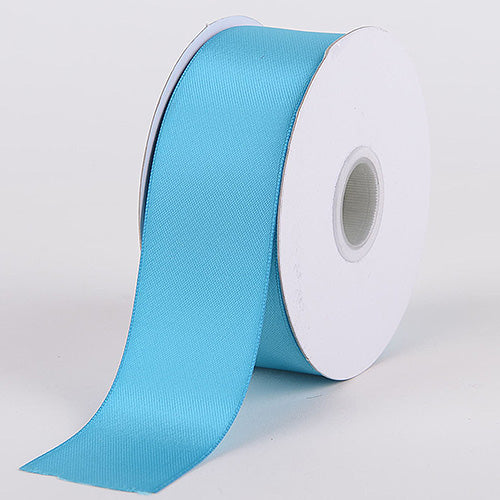 Turquoise - Satin Ribbon Double Face - ( W: 1-1/2 inch | L: 25 Yards )