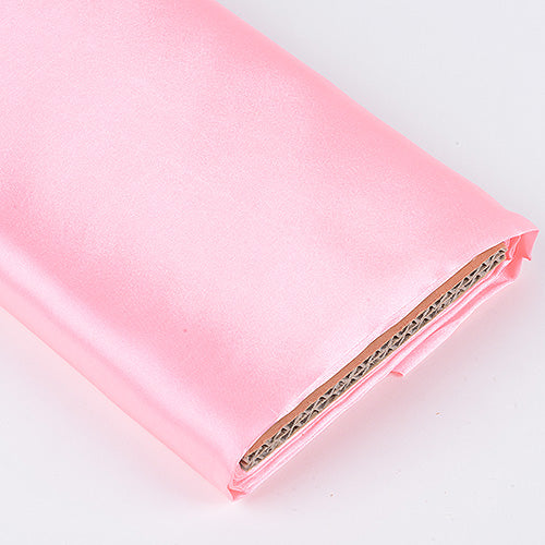 Pink - Premium Satin Fabric - ( W: 60 inch | L: 10 Yards )