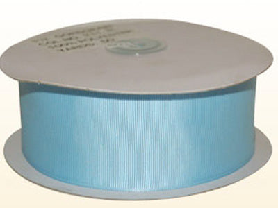 Light Blue - Grosgrain Ribbon Solid Color 25 Yards - ( W: 5/8 inch | L: 25 Yards )