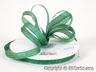 Hunter - Metallic Ribbon - ( 3/8 inch | 33 Yards )