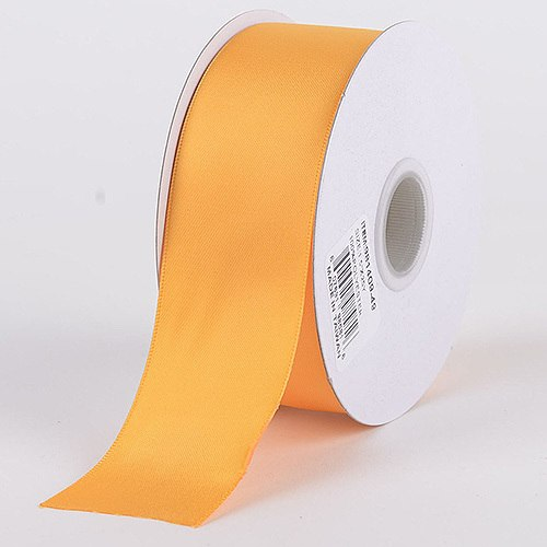 Light Gold - Satin Ribbon Double Face - ( W: 7/8 Inch | L: 25 Yards )