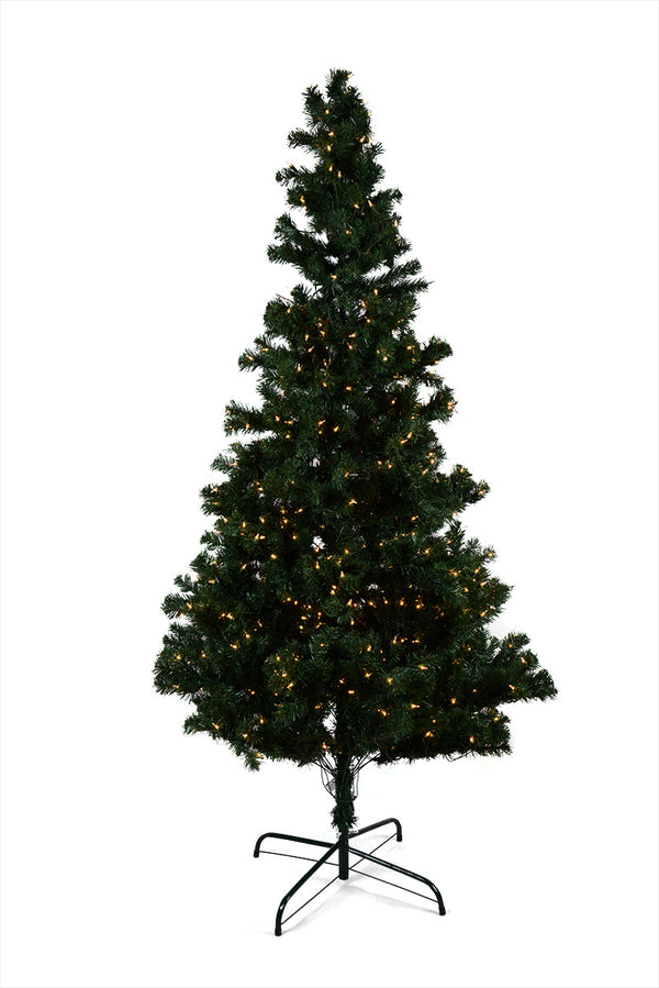 CLOSEOUT Prelit Christmas Tree - 7 Feet Tall