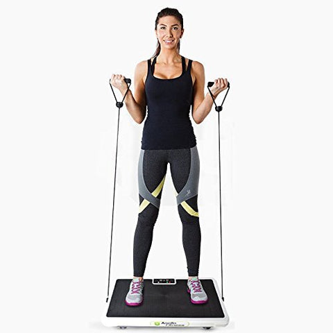 Vibration Machine by Apollo fitness (White Rectangle)