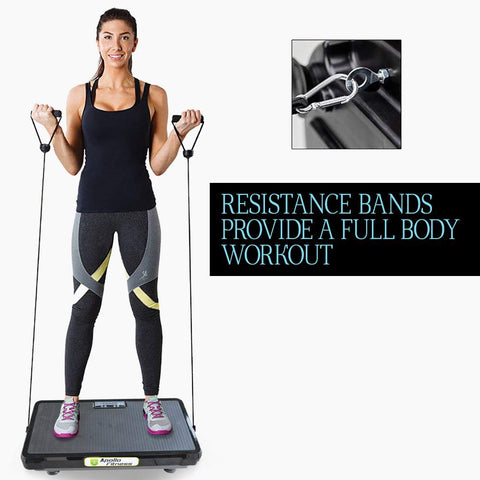 Vibration Machine by Apollo fitness (Black Rectangle)