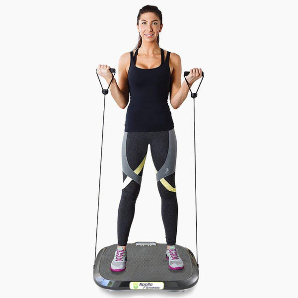 Vibration Machine by Apollo fitness (Black Oval)