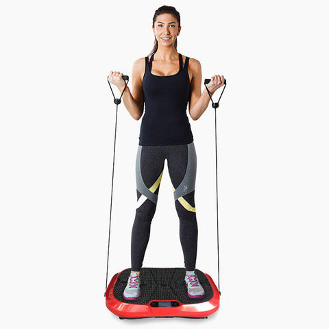 Vibration Machine by Apollo fitness (Red Oval)