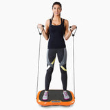 Vibration Machine by Apollo fitness (Orange Oval)