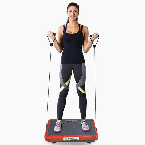 Vibration Machine by Apollo fitness (Red Rectangle)