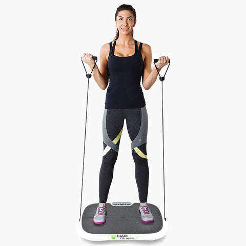 Vibration Machine by Apollo fitness (White Oval)