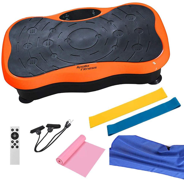 Mini Vibration Machine By Apollo Fitness (Orange)
