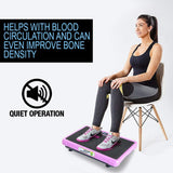Vibration Machine by Apollo fitness (Pink Rectangle)